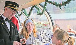 Definitely want to take the kids on the Polar Express!