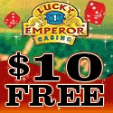 No Deposit Bonus: $€£10 FREE upon sign-up at Lucky Emperor Casino
