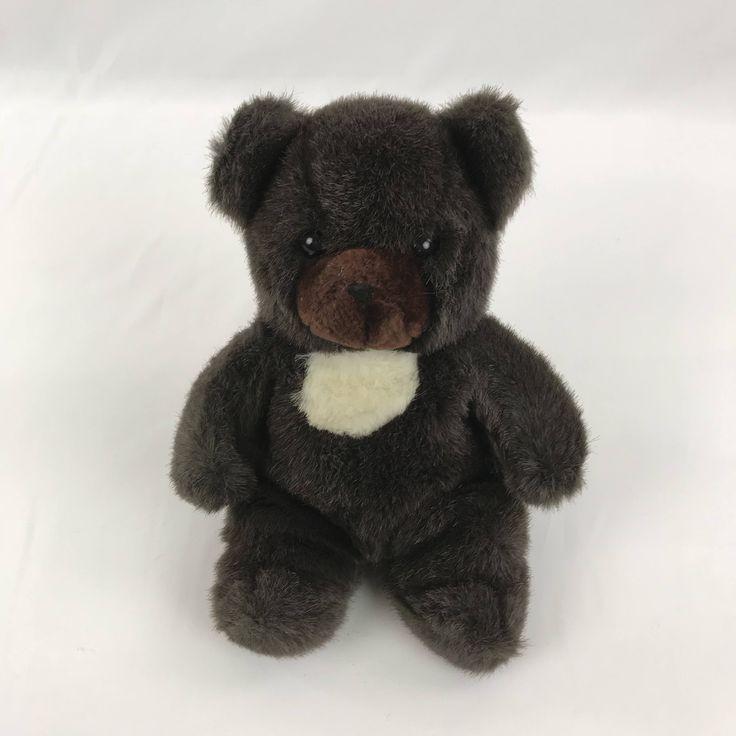 25 unique teddy bear nursery ideas on pinterest teddy bear 1982 gund dark brown teddy bear plush toy sitting teddy bear stuffed animal nursery fandeluxe Ebook collections