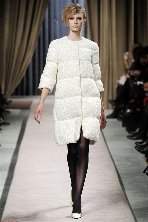белые модные пуховики осень зима 2015 2016
