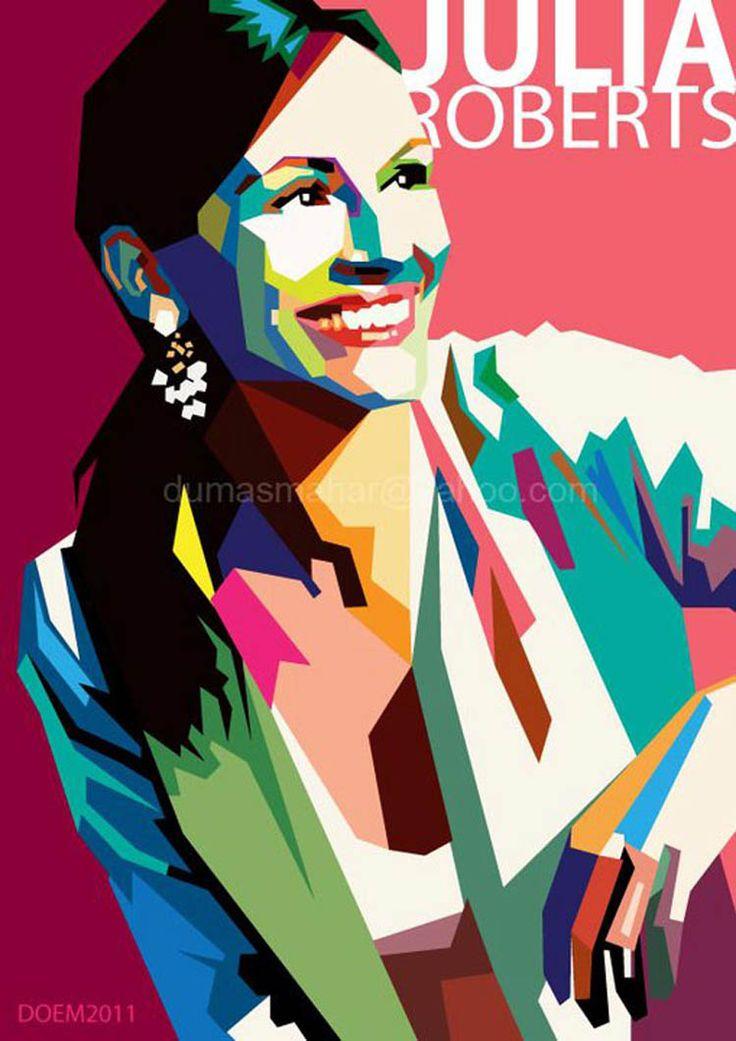 WPAP (Wedha's Pop Art Portrait) style by Dumas Mahar