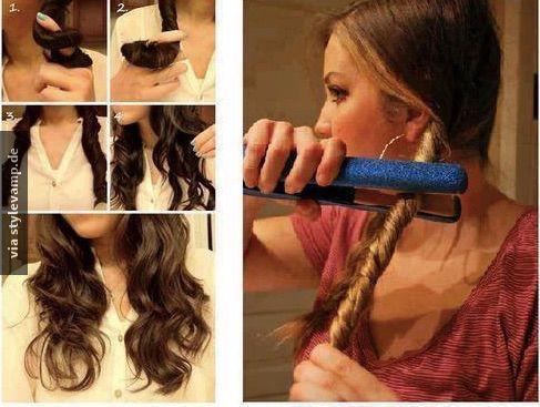 Die Besten 25 Lockenstab Frisuren Ideen Nur Auf Pinterest