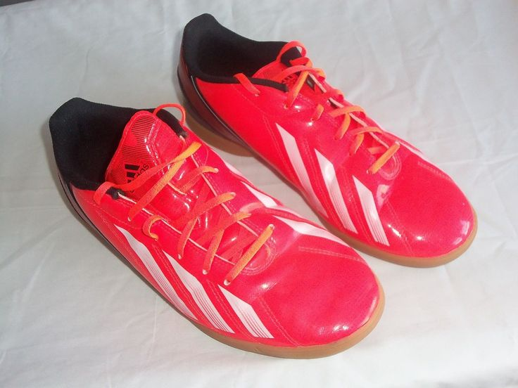 Mens ADIDAS F10 F15 Indoor Soccer Shoes / Sz 10