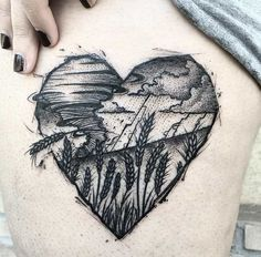 Tornado tattoo by Bombayfoor
