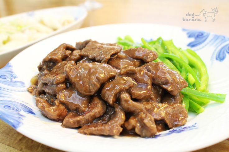 青椒蠔油牛肉