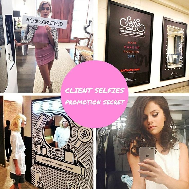 17 best images about home hair salon on pinterest for Creative selfie wall