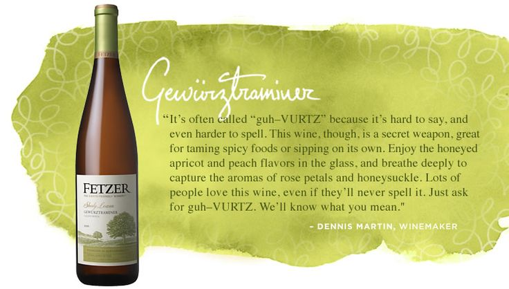 Fetzer - Gewürztraminer. If you like Riesling, you'll probably love Gewürztraminer. Great inexpensive brand.