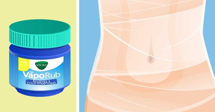 Voici comment réduire votre ventre avec du film en plastique et du Vicks Vaporub – Family santé