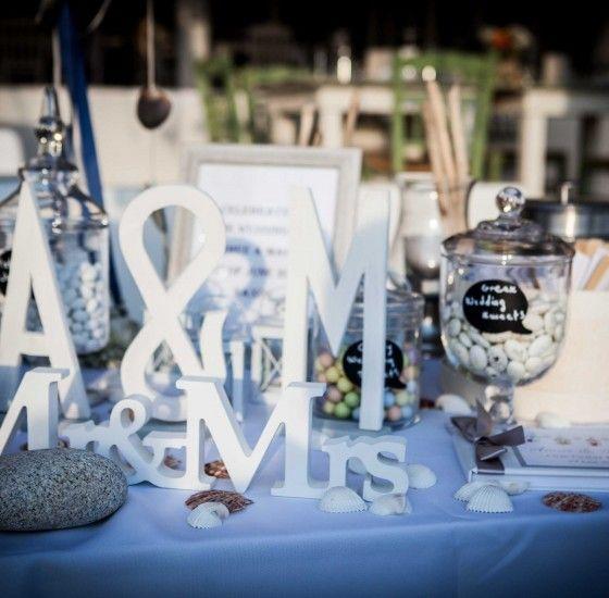 Wedding Planner Naxos - Wedding Decoration Greece -Summer Wedding in Greece -Beach Wedding in Greece -Wish Table -Mr.&Mrs. Sign - Greek Wedding Sweets