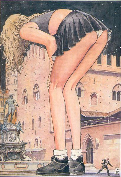 Milo Manara e il Nettuno di Bologna