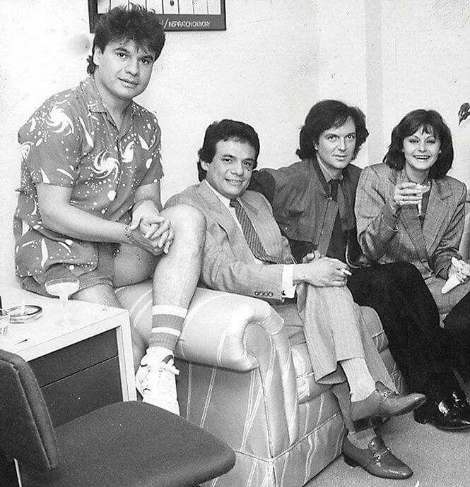 Juan Gabriel, José José, Camilo Sesto y Rocío Durcal.