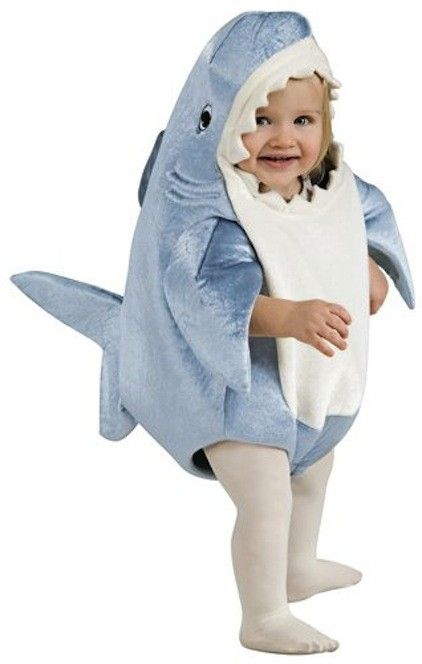 Emers  Infant/Toddler Deluxe Shark Costume on www.amightygirl.com