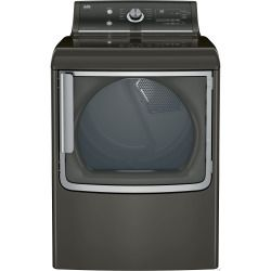 Cheap GE GTD81GSPJMC 28 Inch 7.8 cu. ft. Gas Dryer with 11 Dry Cycles, 5 Selections, eDry and eMonitor, Extended Tumble, Speed Dry, Dewrinkle, HE Sensor Dry and ENERGY STAR Certification: Metallic Carbon