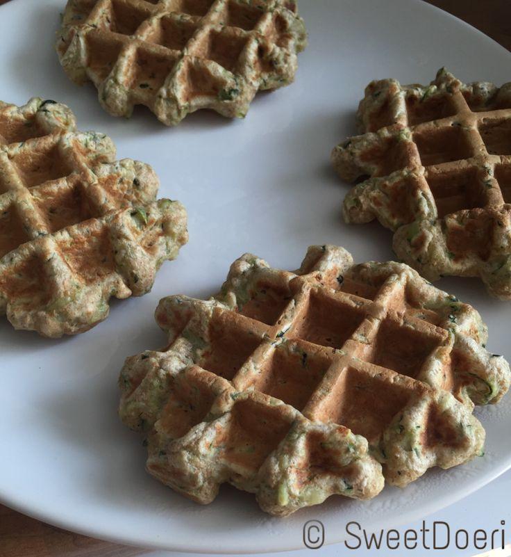 Zucchiniwaffeln - sweetdoeris Webseite! Ganz einfach selber machen. Der gesunde Snack für zwischendurch.