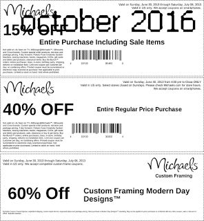 printable coupons michaels coupons - Michaels Frame Coupon