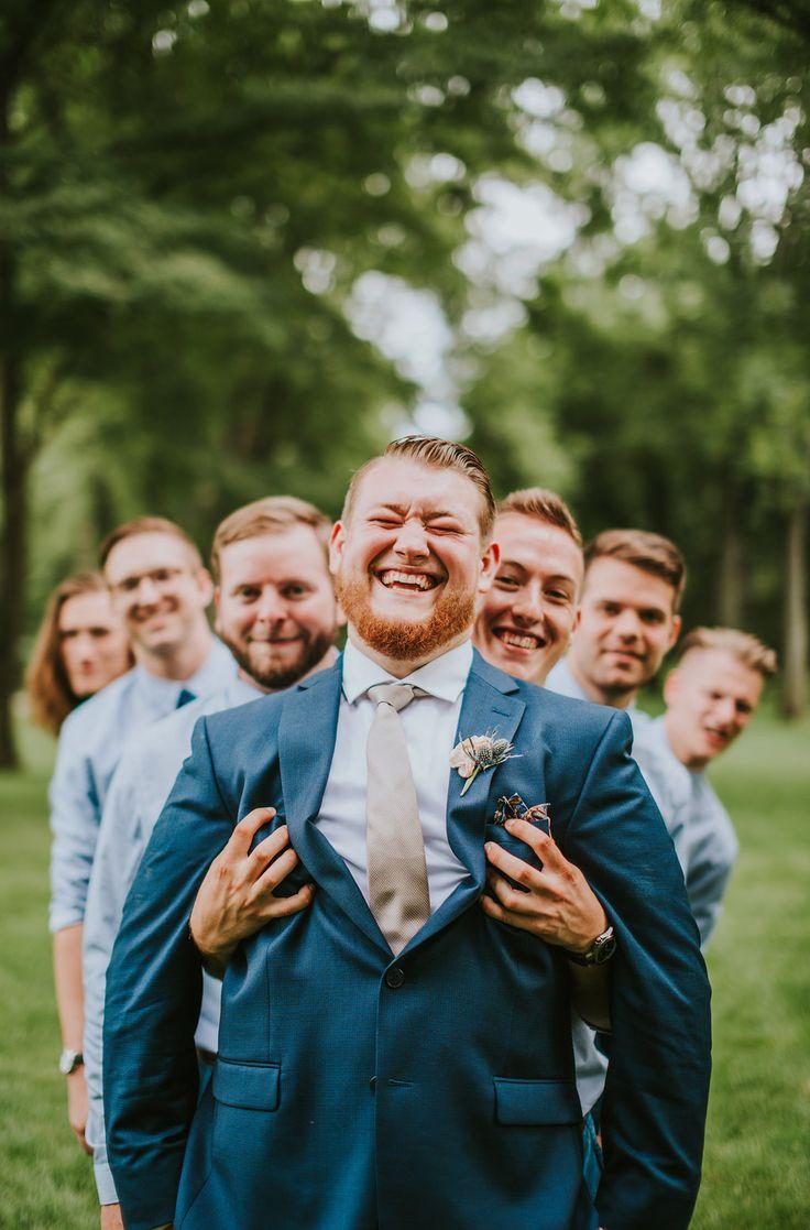 Real Wedding: Cassie+Matthew   ChicagoStyle Weddings  wedding, wedding inspiration, groom, groomsmen, groom style, groom inspiration, groomsmen style, groomsmen inspiration, groomsmen outfits, groomsmen shirts, boho groomsmen, natural groomsmen, boho wedding groomsmen, forest wedding