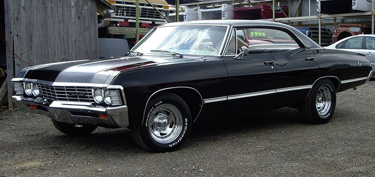 1967 Chevy Impala from Supernatural | PrettyMotors.com