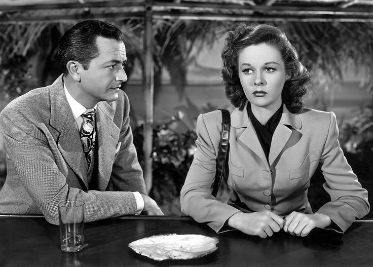 Susan Hayward and Robert Young in They Won't Believe Me (1947)