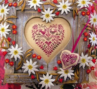 Heart - cross stitch