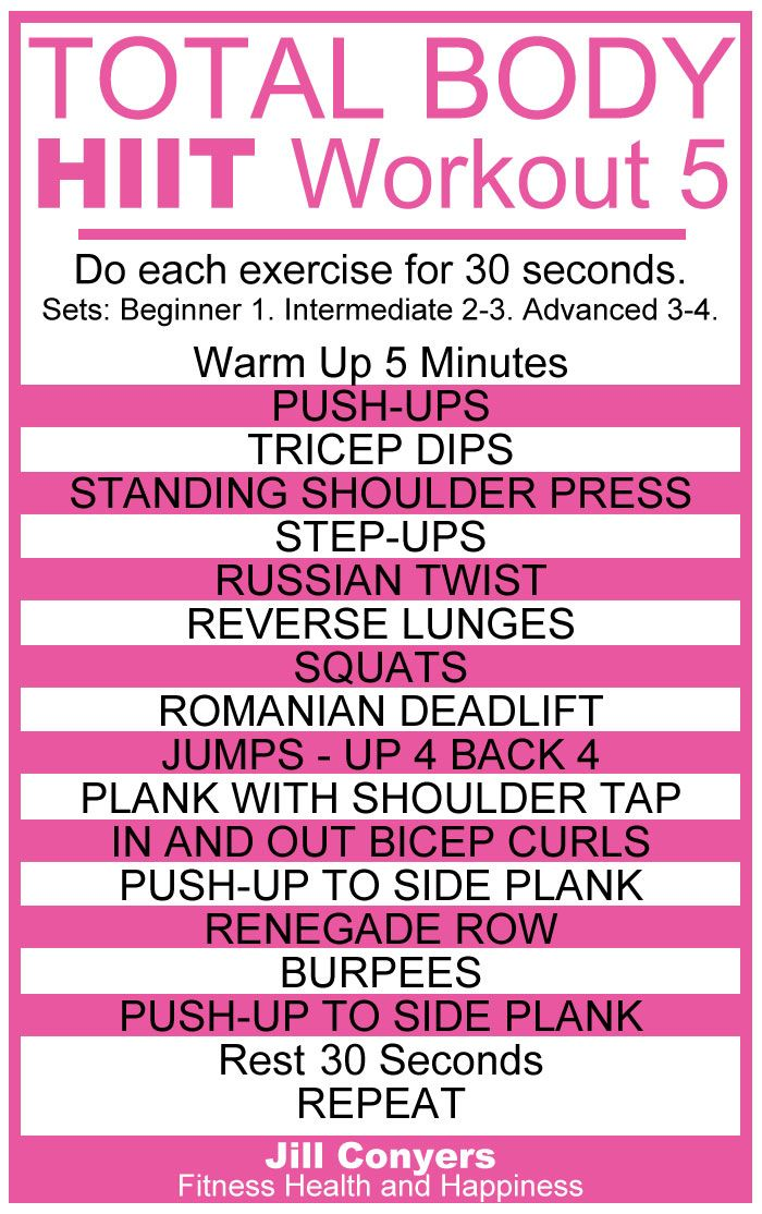 Total Body HIIT Workout 5 jillconyers.com #HIIT #workout #move #fitnesshealthhappiness @jillconyers #download