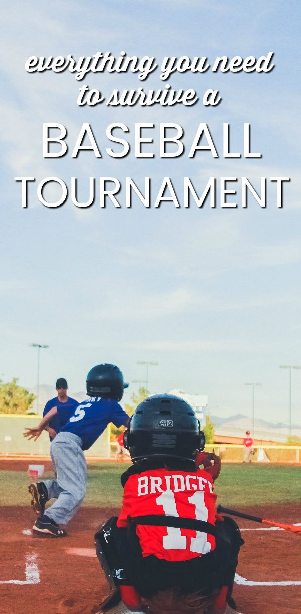 Everything You Need To Survive A Baseball Tournament Baseball Tournament Travel Baseball Baseball Travel Team