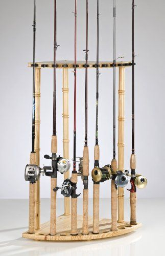 fishing pole holder 1000 images about fishing rod rack on rolling 28608