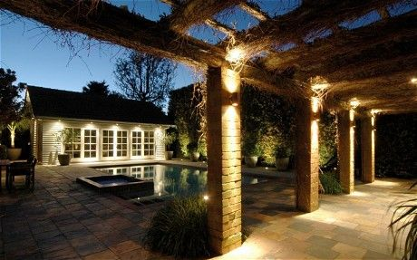 Well-placed lighting can transform the outside of a property. And the new LED lamps means that they use very little energy.