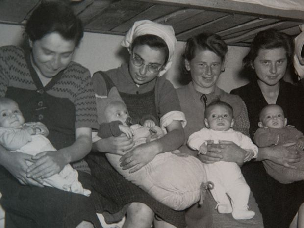Pregnant in Auschwitz: Toronto Holocaust survivor recalls split-second decision that saved her and unborn son (Archival family photos from the personal collection of Miriam Rosenthal, a holocaust survivor who turns 90-years-old next week, in Toronto, Ontario, Wednesday, August 22, 2012)