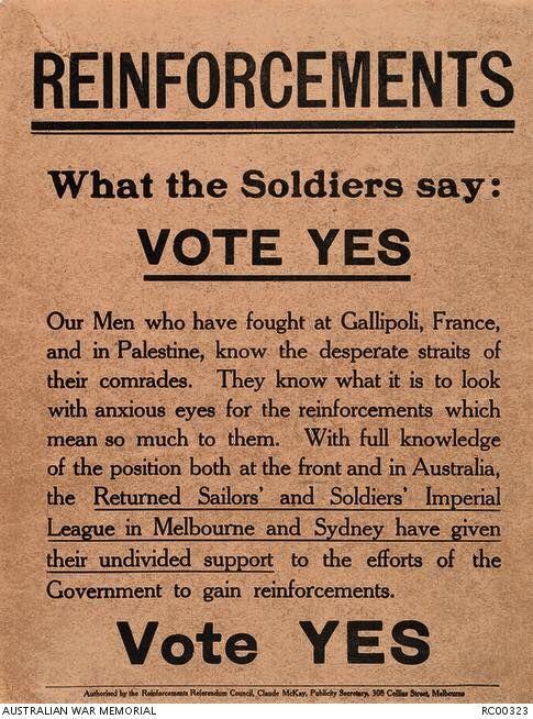 Australia Conscription