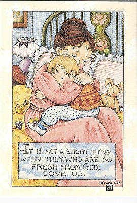 Not A Slight Thing When They Fresh From God Love Us Magnet Mary Engelbreit Art