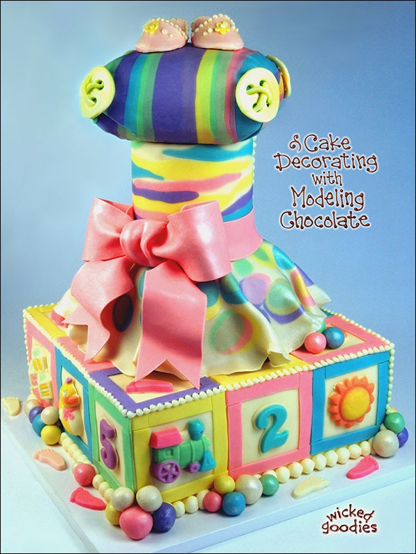 Cake Decorating With Modeling Chocolate Kristen Coniaris : 17 Best images about Peek Inside My Books on Pinterest ...