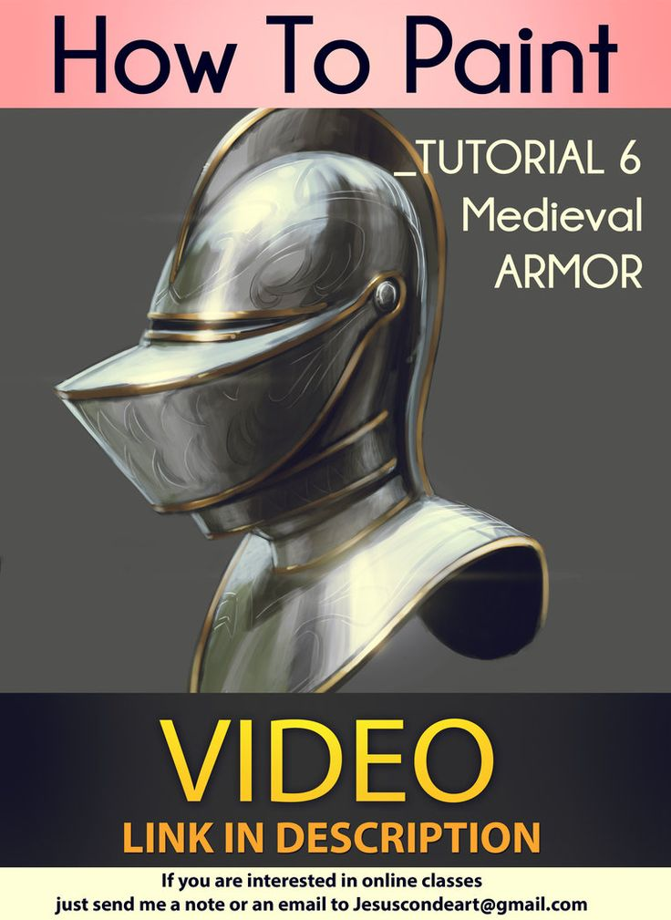 How To Paint_ MEDIEVAL ARMOR _ TUTORIAL by Jesus C by JesusAConde on deviantART