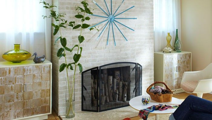 Unique Fireplace Makeover Maintaining Ideas ~ http://lovelybuilding.com/fireplace-makeover-maintaining-ideas-maintaining-ceramic-tile-fireplace/