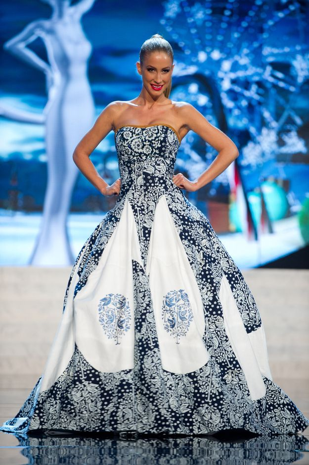 Miss Slovak Republic — Least Shiny | 36 Most Amazingly Elaborate Miss Universe Costumes