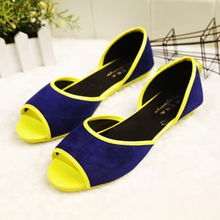 Aliexpress.com : Buy 2013 gommini loafers fashion neon color patchwork  color block women's flat