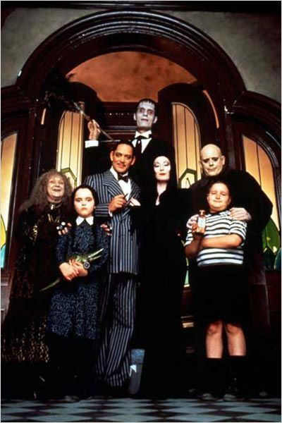 La Famille Addams : Photo Anjelica Huston, Barry Sonnenfeld, Carel Struycken, Christina Ricci, Christopher Lloyd
