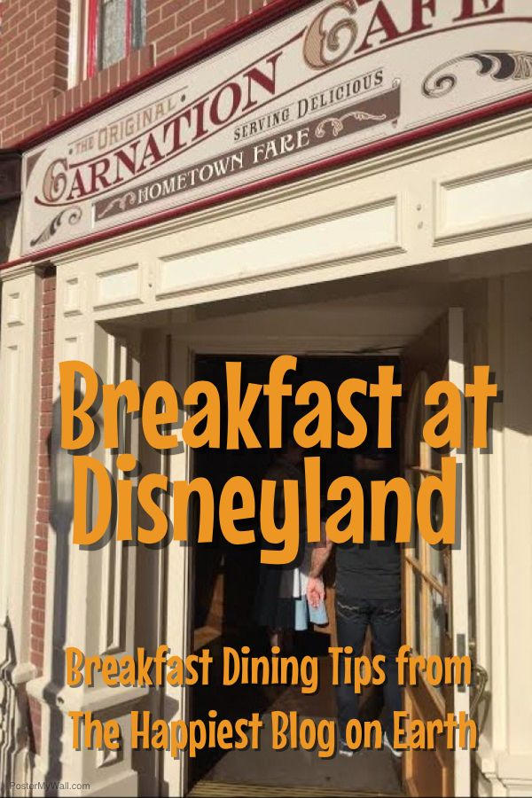 Breakfast at Disneyland Resort isn't limited to what you can find in the parks. There are tons of breakfast options at the Disneyland Resort Hotels and at Downtown Disney. Here's a quick overview of our favorite tasty morning eats:  Surf's Up Breakfast with Mickey and Friends. A buffet style character breakfast at  Paradise Pier Hotel. Reservations encouraged. Goofy's Kitchen character breakfast buffet at Disneyland Hotel. Reservations encouraged. Storyteller's Cafe character breakfast at…