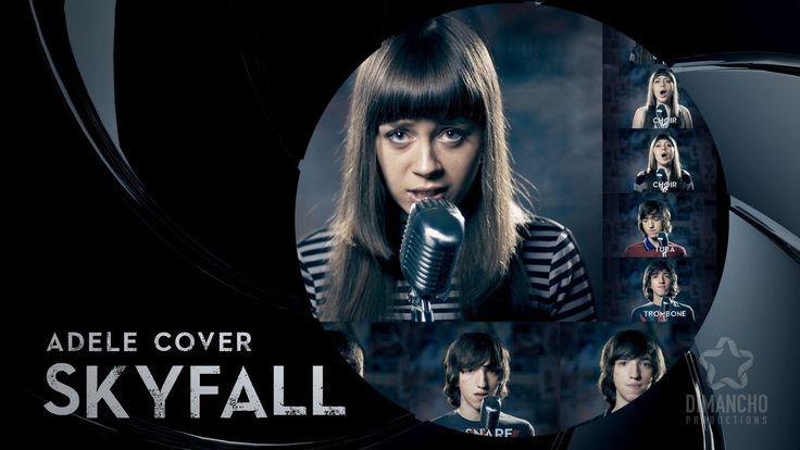 Skyfall (Adele) - Acapella Cover by Mary Sazonova & Tikhon L., via YouTube.