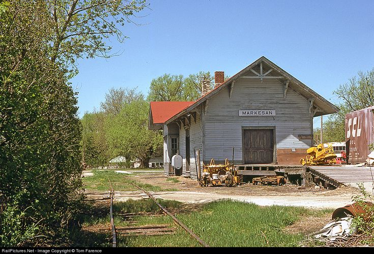 RailPictures.Net Photo: Milwaukee Road Depot at Markesan, Wisconsin by Tom Farence