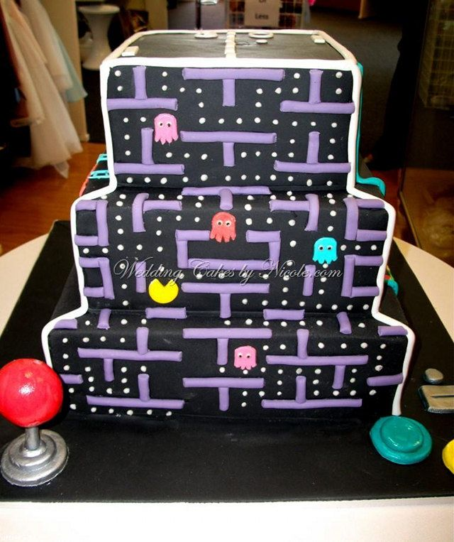 Best Birthday Cakes Images On Pinterest Video Game Cakes - Video game birthday cake