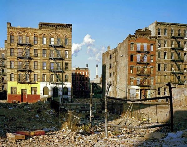 Pictures of Lower East Side of New York City in 1980