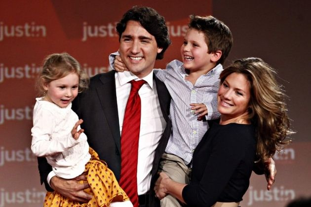 Justin Trudeau dit quil doit répondre à des attentes élevées depuis lenfance. | Débats Montréal  Avril 2013 nouveau chef du parti Libéral du Canada
