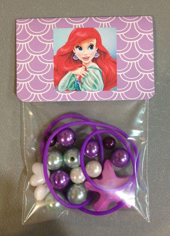 8  Ariel Little Mermaid purple & aqua by MichelleAndCompany