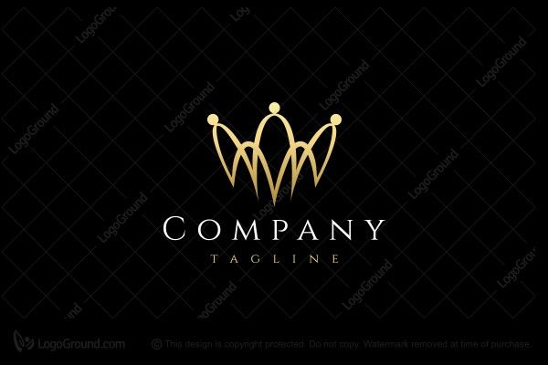 Golden Crown Logo Crown Logo Golden Crown Crown