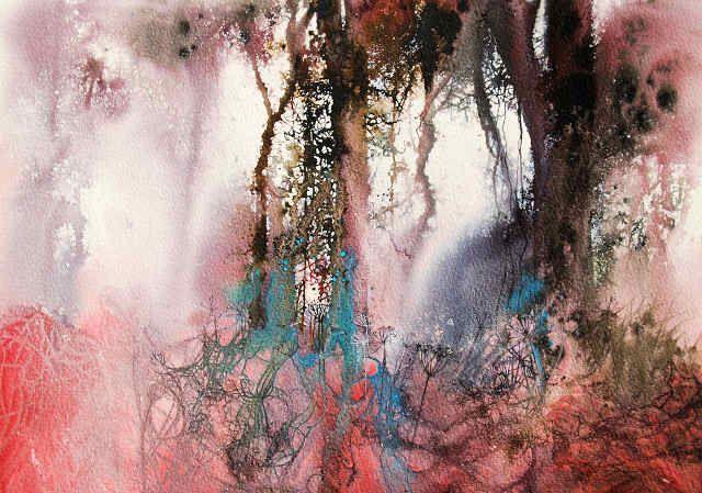 Woodland Fantasy 1-Ann Blockley