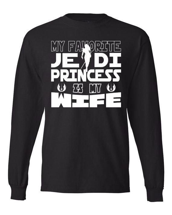 DisGear My Favorite Jedi Princess Is My Wife Star Wars Long