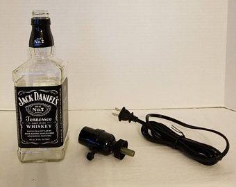 1.75L Jack Daniels Bottle Lamp Kit.