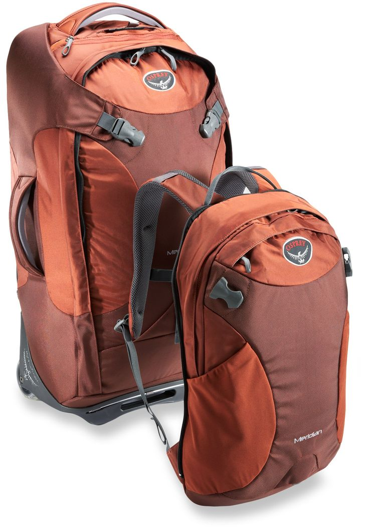 "Osprey Meridian Wheeled Convertible Luggage - 28"" - Free Shipping at REI.com"