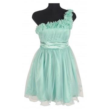 rochie banchet cu fete de tull, http://www.lafemme.ro/rochie-banchet-cu-fete-de-tull-1631a-1