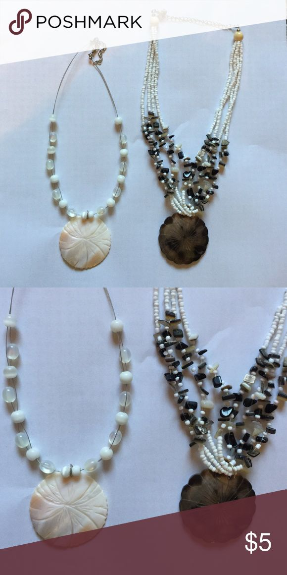 Shell necklace set Shell necklace set Jewelry Necklaces